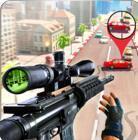 城市狙击枪射击