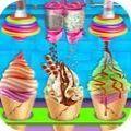 冰淇淋烹饪工厂