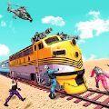 火车劫匪美国警察火车抢劫模拟