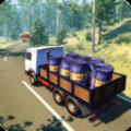 货车山地物资运输