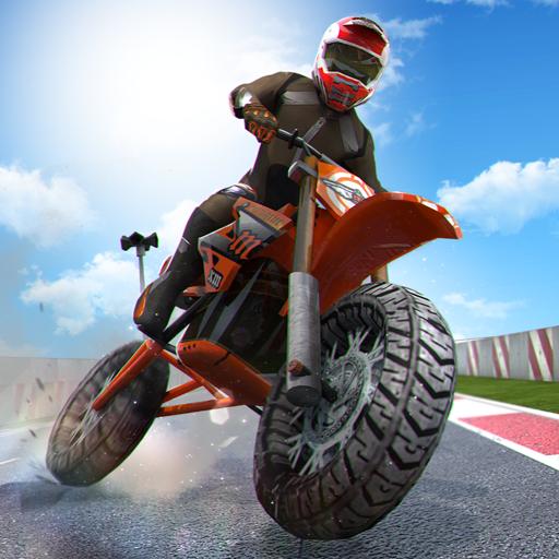 真正的摩托车比赛