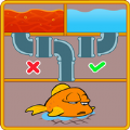 拯救鱼方块拼图