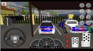 警车模拟驾驶游戏合集