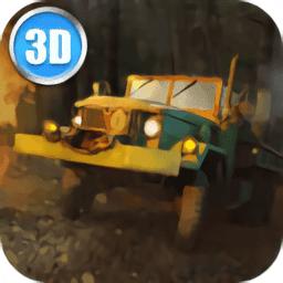 陆军卡车司机3D模拟器