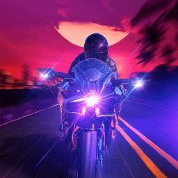 骑上我的野摩托