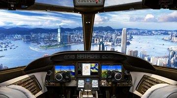 真实飞机驾驶模拟器游戏